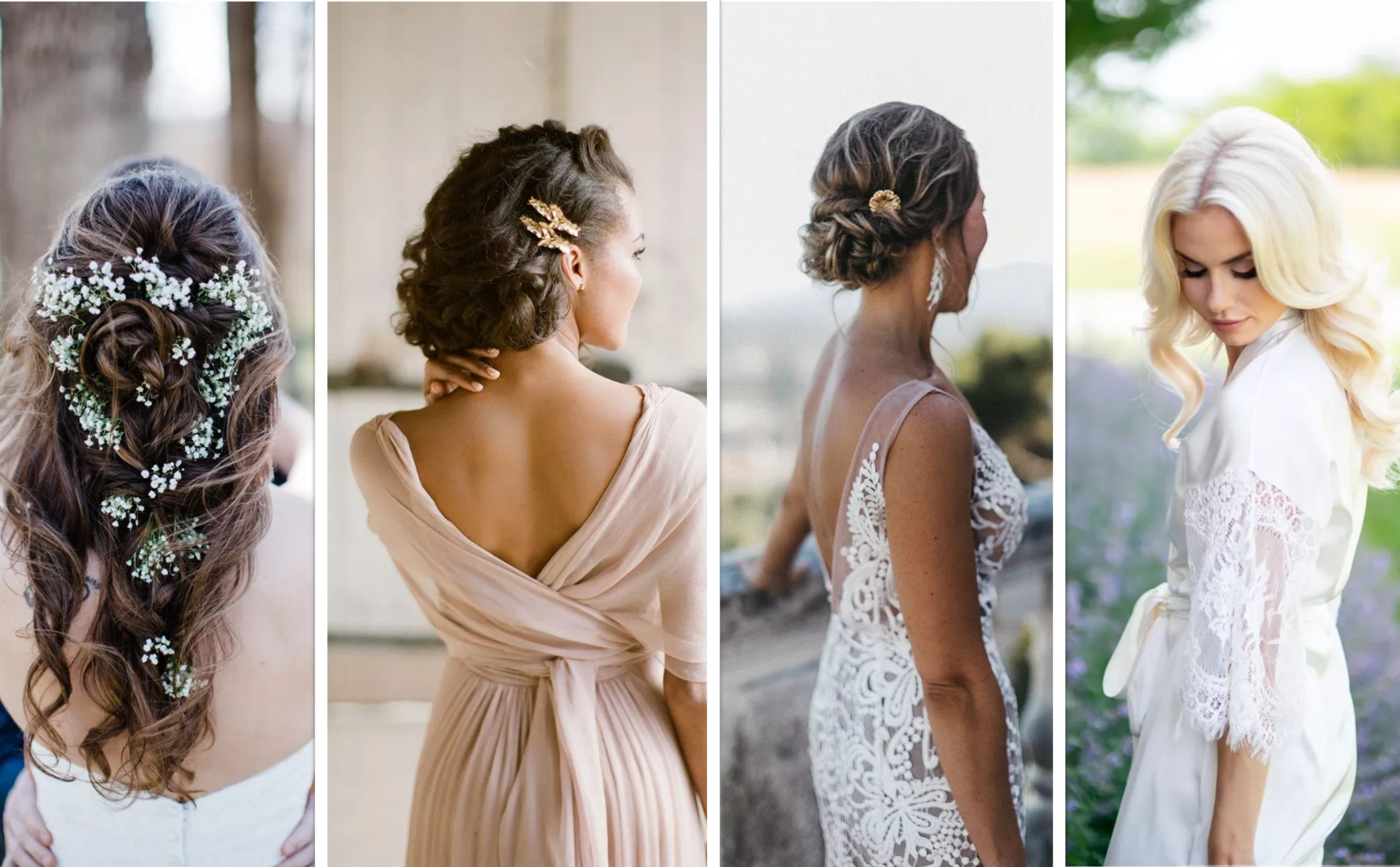 40 Romantic Bridal Hairstyles to Wear on Your Wedding Day | Top Fashion News