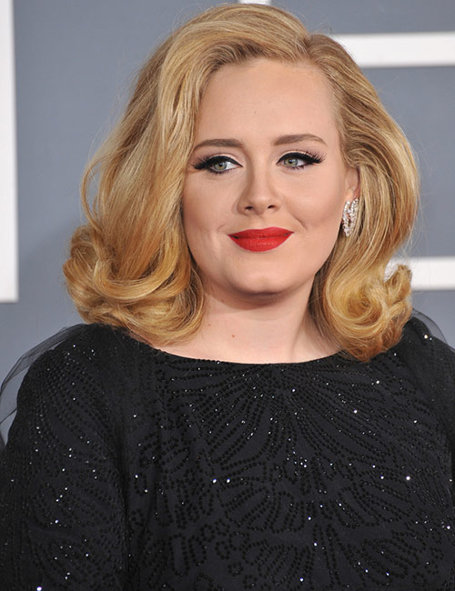 Adele's Big Curls