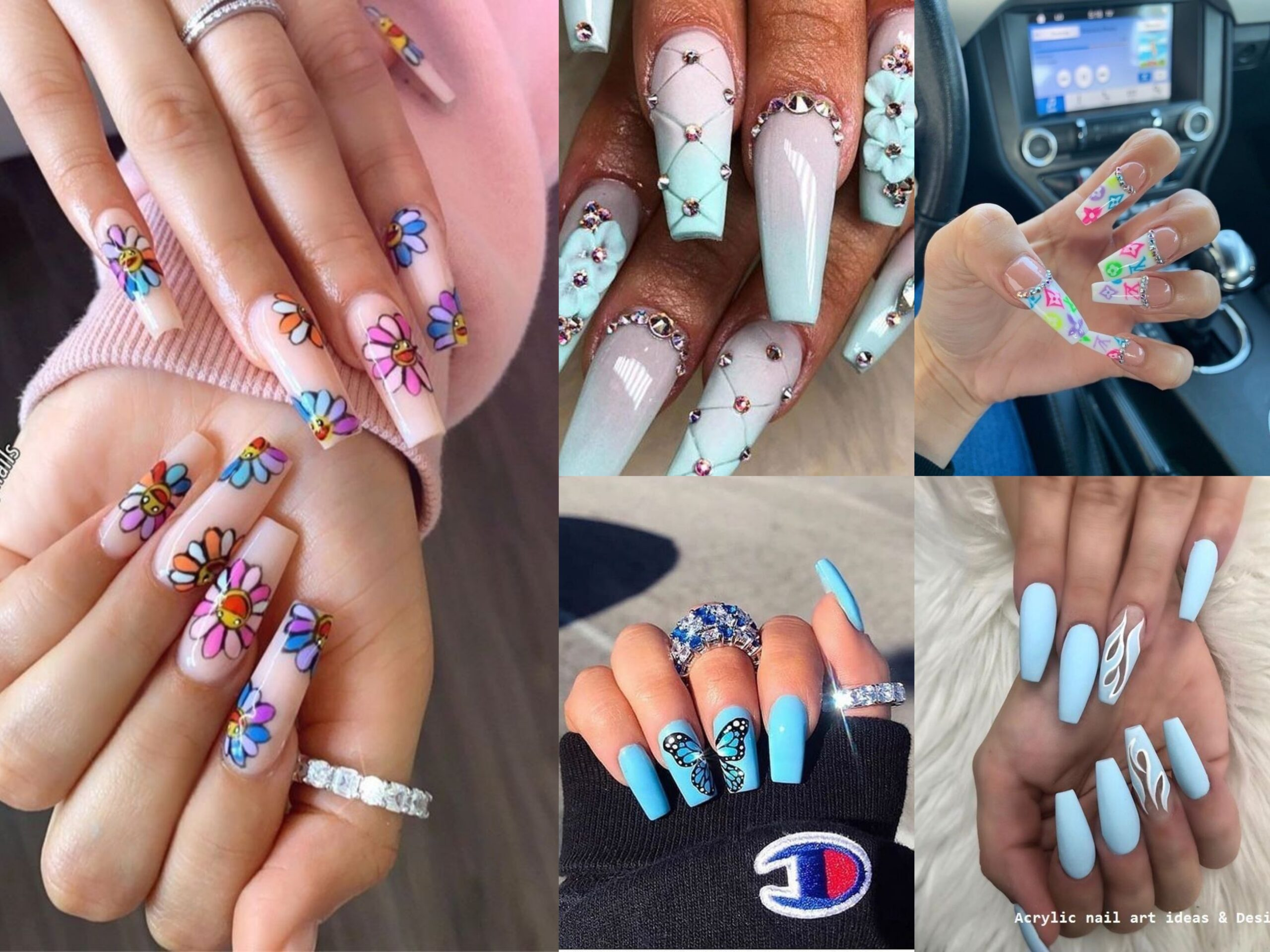 25+ Cool Acrylic Nail Art Designs and Ideas to carry your Attitude ...